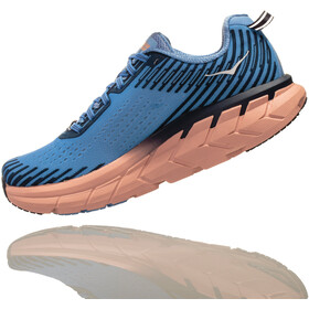 Hoka One One Clifton 5 Running Shoes Women Allure/Mood Indigo
